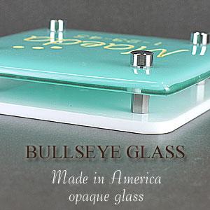 ガラス表札側面イメージ