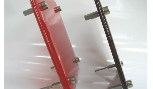 メルトガラス表札厚み