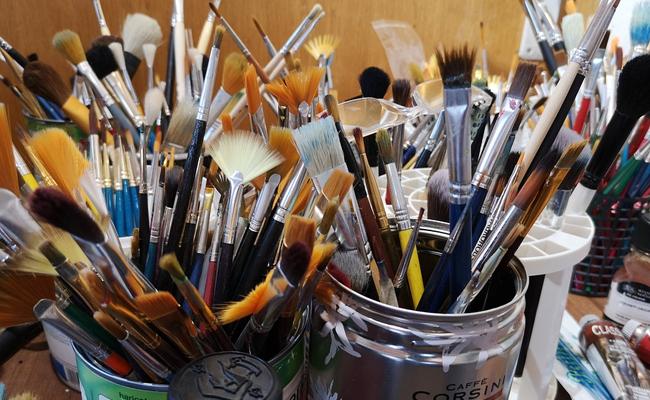 塗装用の筆