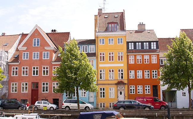 北欧の街並み
